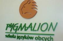 Logo styrodur, napisy przestrzenne