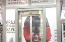 Folia OWV oklejanie witryn Warszawa