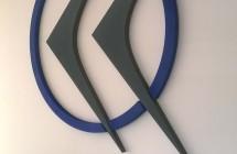 Litery – logotyp przestrzenny