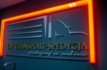 Logotyp przestrzenny z oświetleniem LED