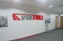 Logo ze styroduru VIATOLL